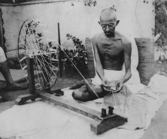 While in school, King learned about Mohandas Gandhi, who had used peaceful means to free India from British rule. Gandhi knew that he could not fight the British government with guns. So he led thousands of people to peacefully break unjust laws. Gandhi allowed himself to be arrested. He went without food for weeks to draw attention to his cause. He led thousands of people on marches. From our Topic Who Was Martin Luther King Jr.? | Kids Discover