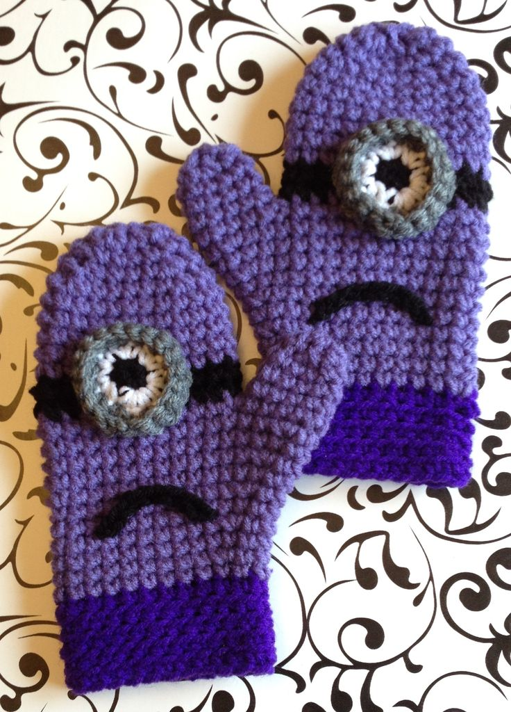 Free Crochet Pattern Minion Mitts : 471 Best images about minions on Pinterest Minion ...