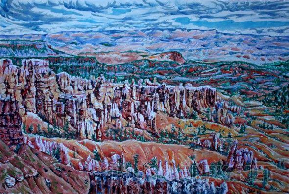 Брайс-каньон. 2 Самый красивый каньон США.