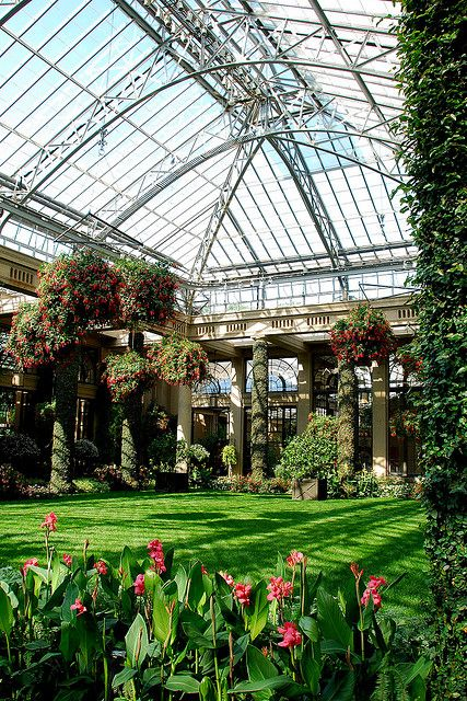 Conservatory at Longwood Gardens   Flickr - Photo Sharing!