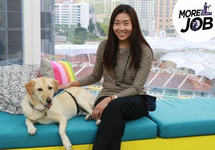 Meet animal assisted therapist Maureen Huang: The dog-tor is here