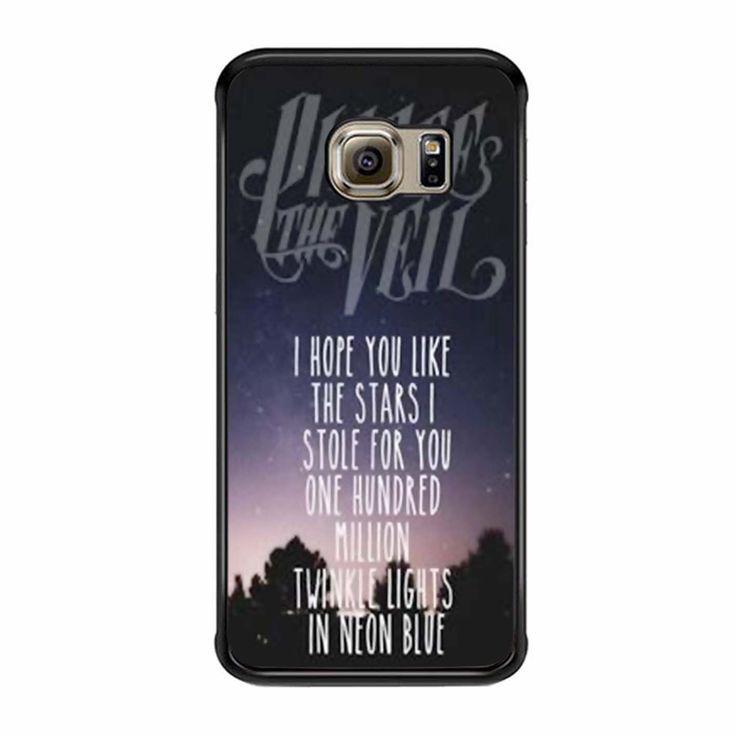 Pierce The Veil Song Lyrics Samsung Galaxy S6 Edge Case : Pierce The ...