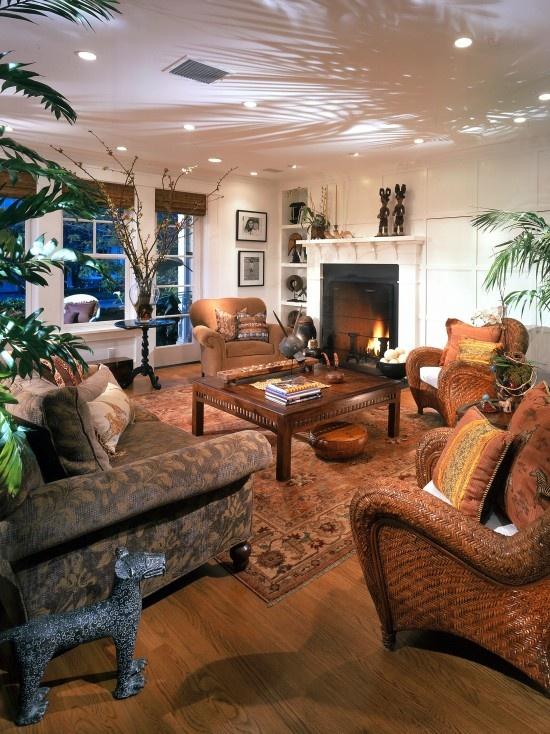 127 best hemingway style images on pinterest for Living room uplighting