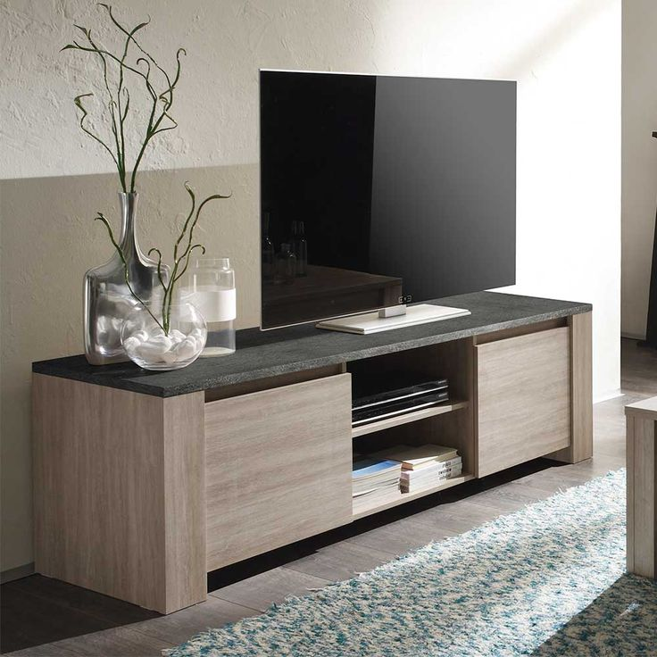 die 25 besten ideen zu tv wand lowboard auf pinterest. Black Bedroom Furniture Sets. Home Design Ideas