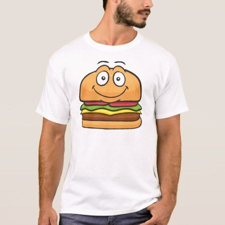 Hamburger Emoji T-Shirt - tap to personalize and get yours