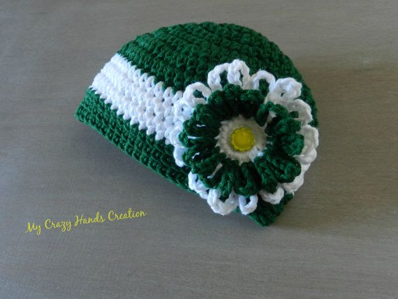 St. Patrick day Crochet hat by Mycrazyhandscreation on Etsy