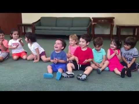 Little Boy's Unexpectedly Hearty Laugh Has Made This Preschool Music Class Go Viral