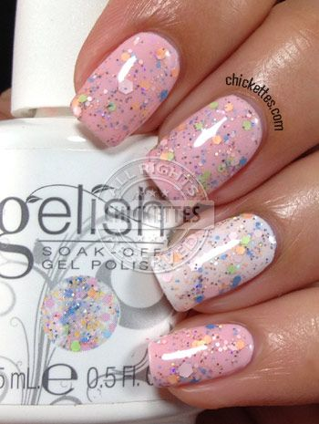 Gelish Trends - Candy Coated Sprinkles - Spring 2014