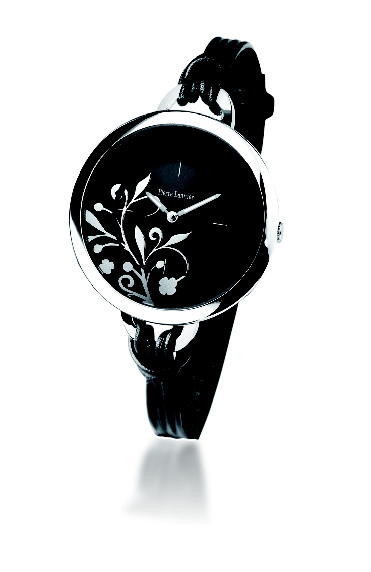 Pierre Lannier Paris dress watches for ladies – Retail price Rs. 6,000 – Rs. 15,000  Will be available at www.chronowatchcompany.com