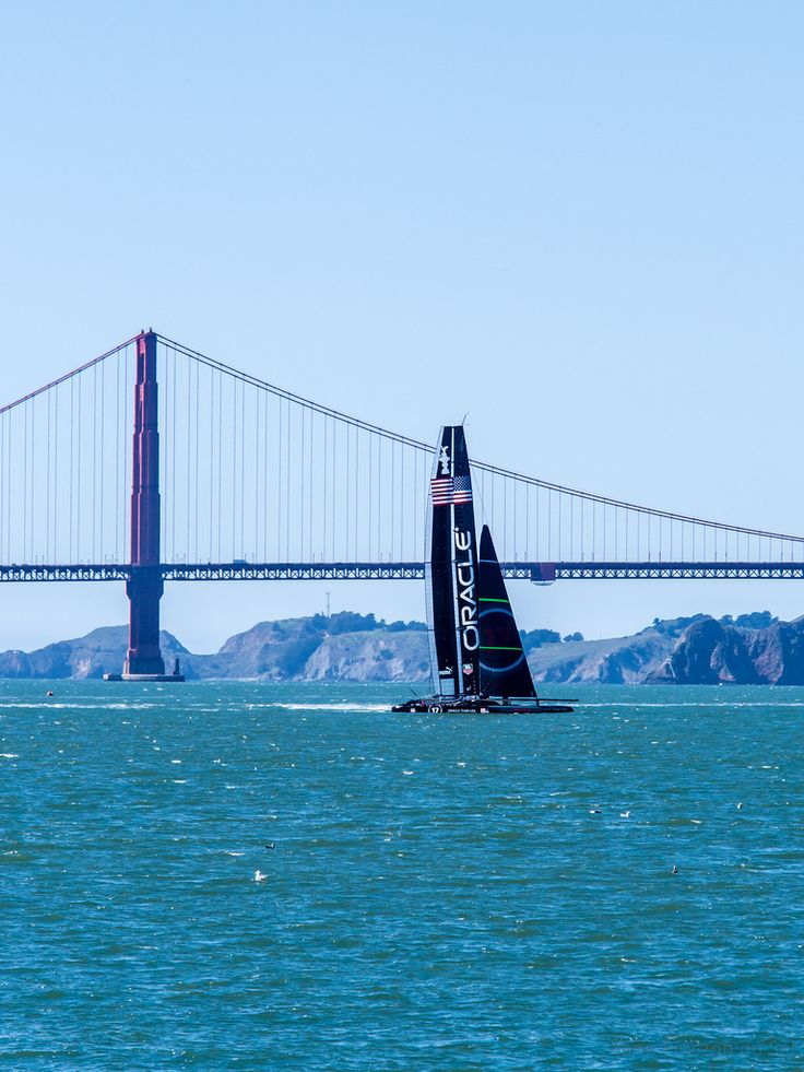 Oracle America's Cup catamaran (by grand Yann)