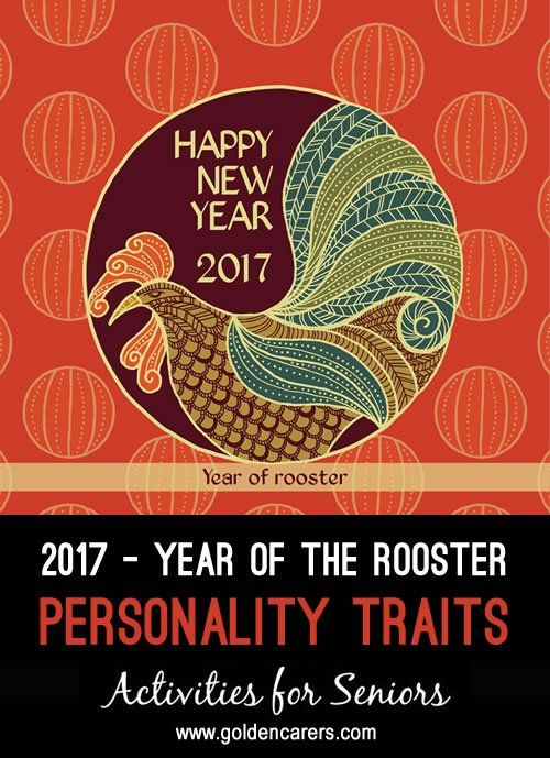 # Chinese New Year - January 28 # The Chinese New Year is also called Spring Festival and dates back 4,000 years. 2017 is a year of the Rooster.