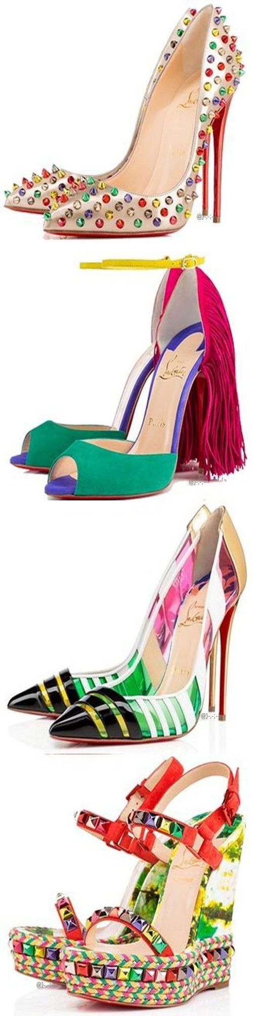 Christian Louboutin Spring 2015 ~ Colette @}-,-;---I'm pretty sure I need the top pair.
