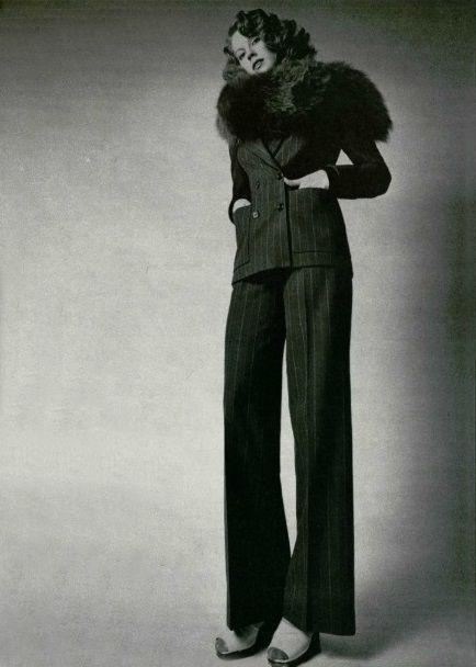 Yves Saint Laurent l'Officiel 1971