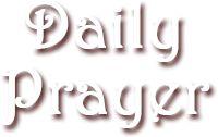 Daily Devotional Prayer