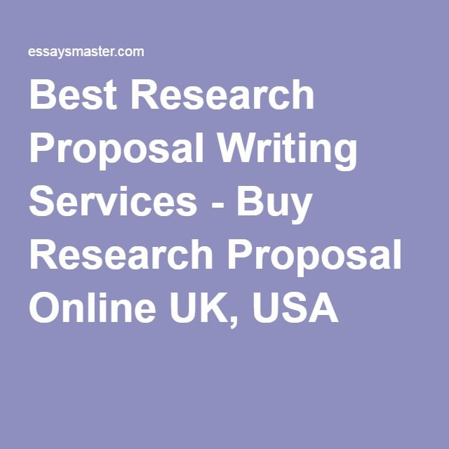 Best research proposal writing service