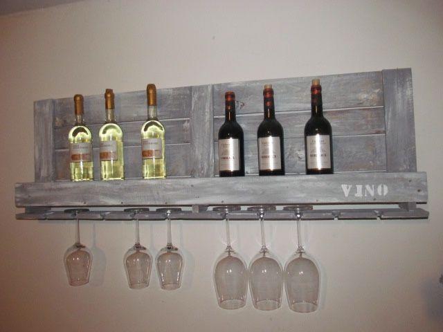 Die besten 25+ Weinregal palette Ideen auf Pinterest Wein - hollywoodschaukel selber bauen aus paletten