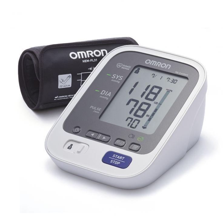 OMRON M6 Comfort Intellisense felkaros vérnyomásmérő okos mandzsettával