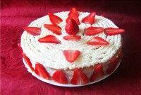 Торт с клубничной начинкой рецепт с фото, как приготовить.