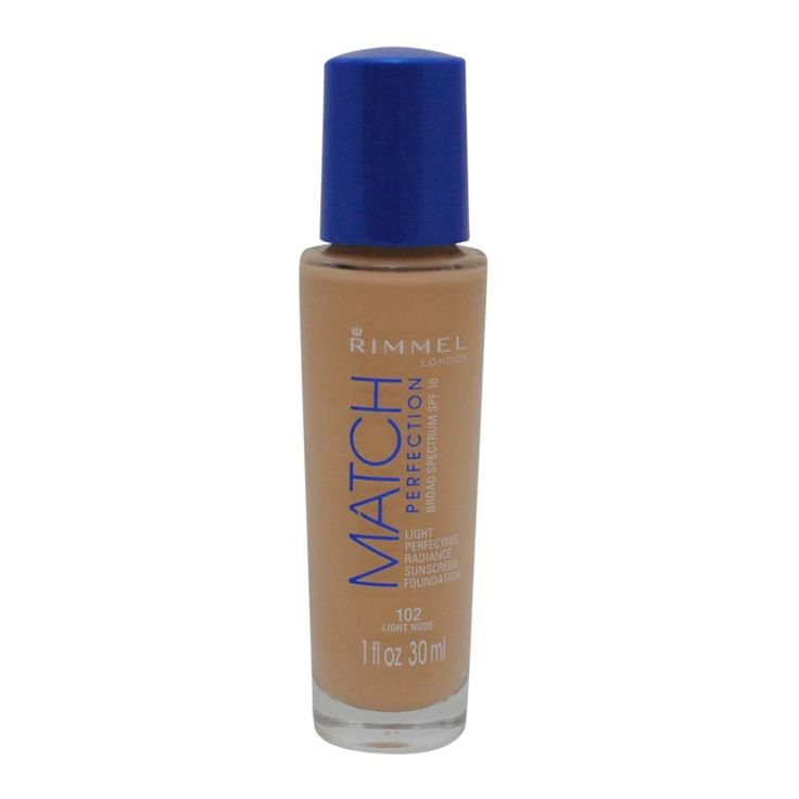 Rimmel Match Perfection Foundation, Light Nude, 1 Fluid Ounce ** Learn more by visiting the image link. (This is an affiliate link and I receive a commission for the sales)