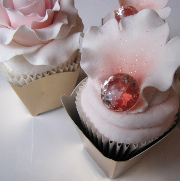 Precious Petal Cupcake.