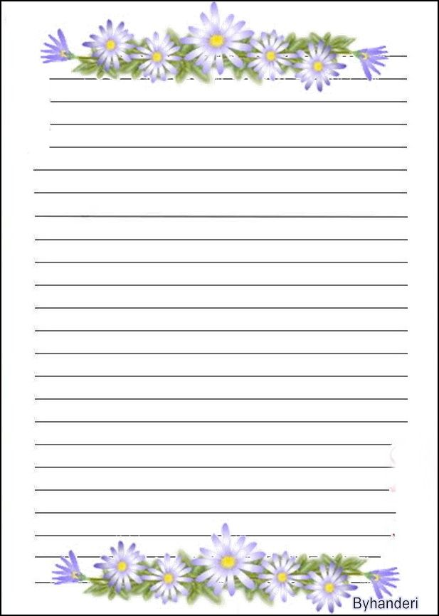 40 best free stationery images on Pinterest Writing paper, Free - free handwriting paper template