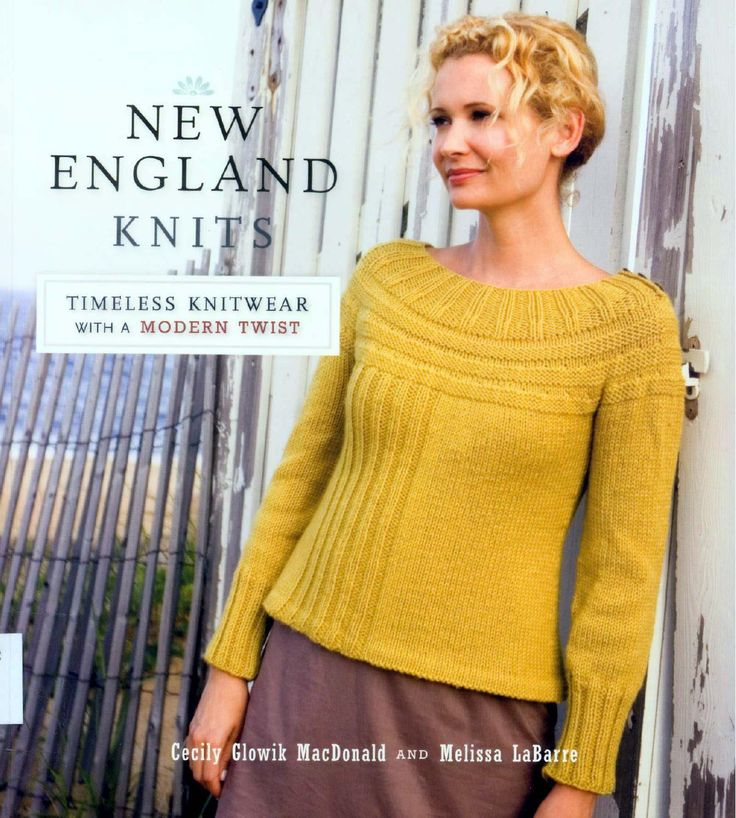 New England knits - Timeless knitwear patterns with a modern twist by C. MacDonald & M. Labarre by Orsa Minore