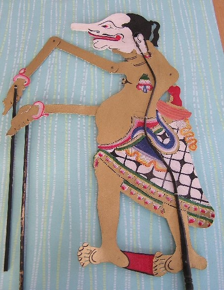 Petruk - Traditional Indonesian Shadow Puppet
