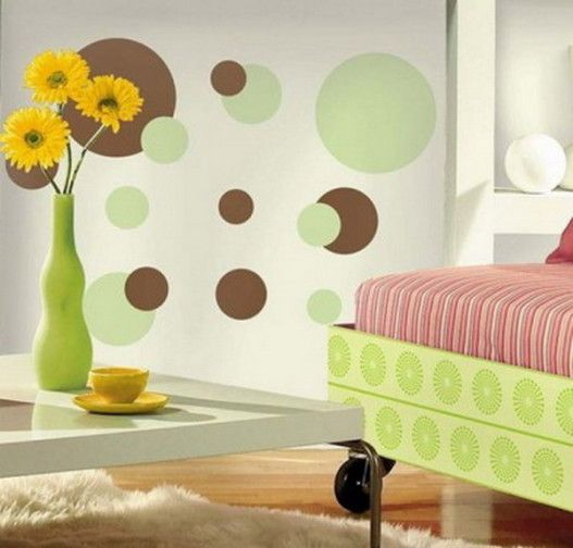 sweetest wall design for kids room - Wall Paint Design Ideas