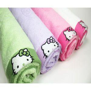 hello kitty bath towels