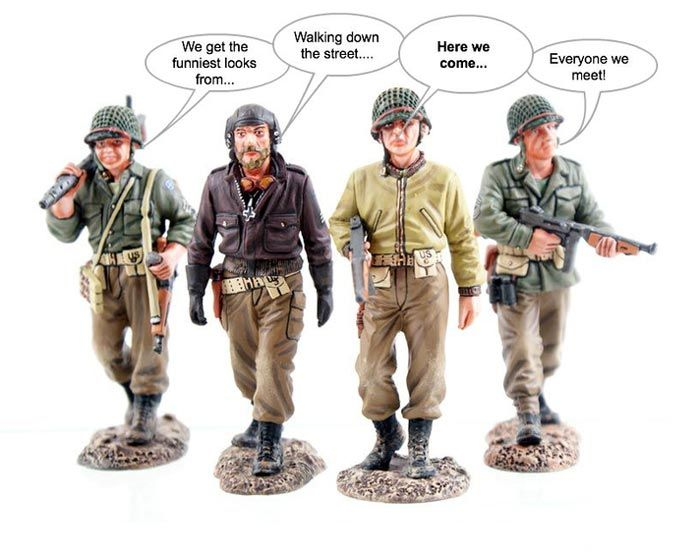 It's Thursday so...we have a winner for last weeks Talking Toys contest. Simon Rafe has snagged one of the most coveted prizes on earth...which is of course is a $50 Gift Card from Michigan Toy Soldier.