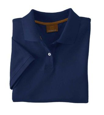 Harriton Women's 6.5 oz. Cotton S/S Pique Polo (M / NAVY) Harriton. $13.24
