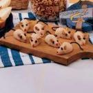 Peanut Butter Christmas Mice Recipe | Taste of Home Recipes