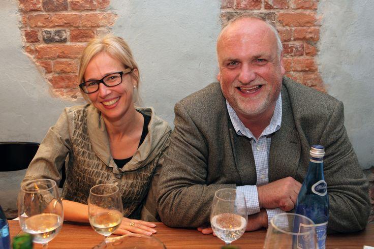 Charlotte Appelgren (Cine-Regio) and Oliver Koch-Pahl
