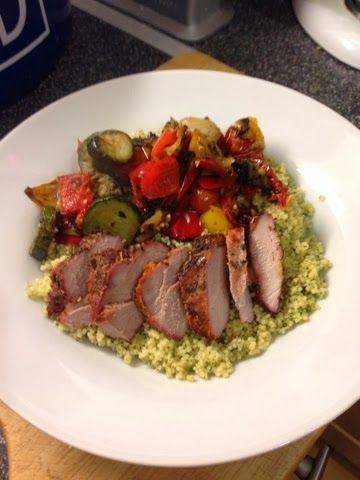 Vicki-Kitchen: Marinaded paprika pork tenderloin (slimming world friendly)