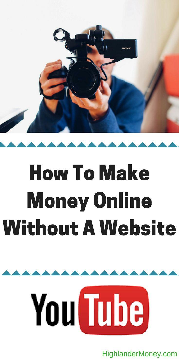 How To Make Money Online Without A Website | - HIGHLANDER MONEY