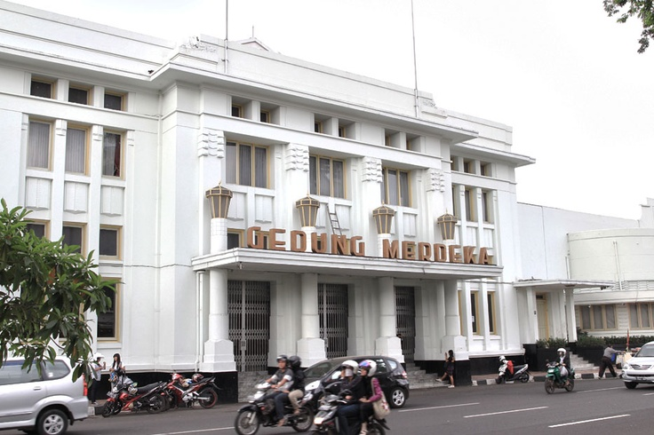 Gedung Merdeka, the historical venue of the Asian-African Conference, still holds its own charms up to this day.