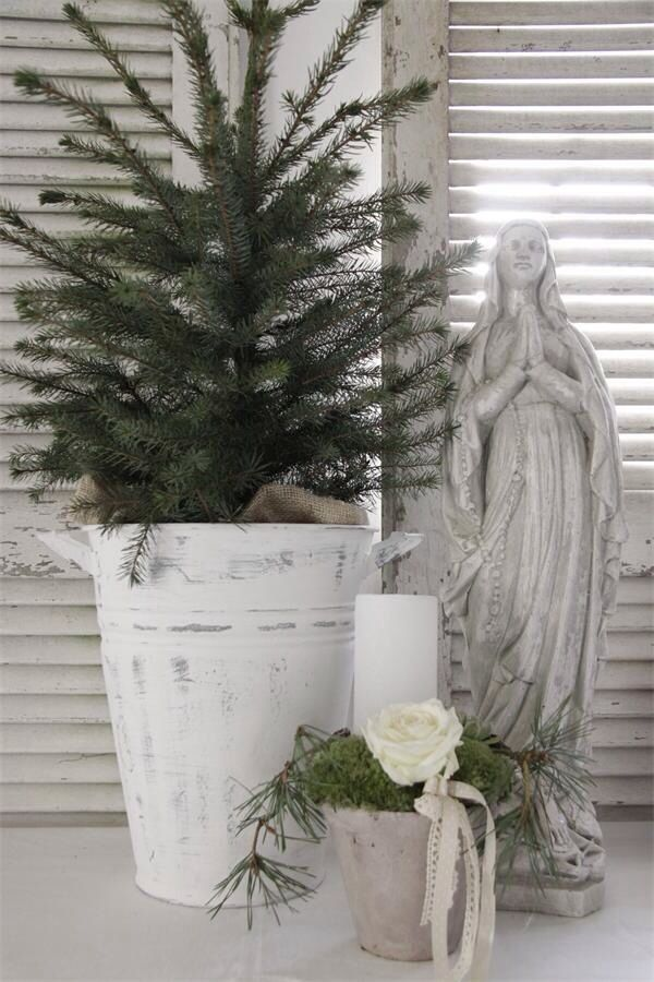 Christmas...like the pine in a pot for the front poorch/entryway