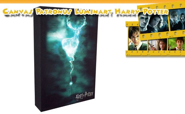 Canvas Patronus Harry Potter Luminart