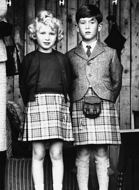 Prince Charles and Princess Anne / United Kingdom