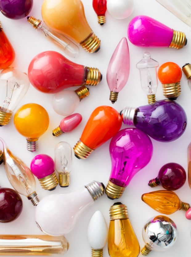 colors lightbulbs by bryan gardner photography