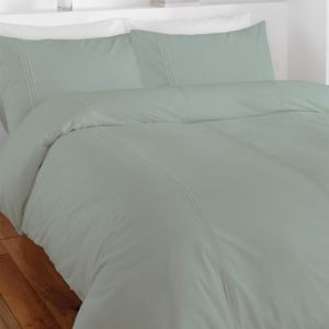 Chartwell Simplicity Plain Duck Egg King Bed Cover Set | Departments | DIY at B&Q