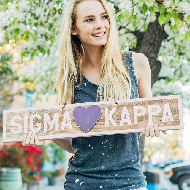 Sigma  Kappa. Sign from @thesociallife #findonfindgreek