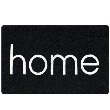 Doormat Home - Black - hardtofind.