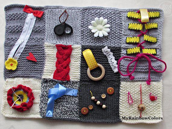 Fidget Blanket Alzheimer Blanket Sensory Blanket Dementia