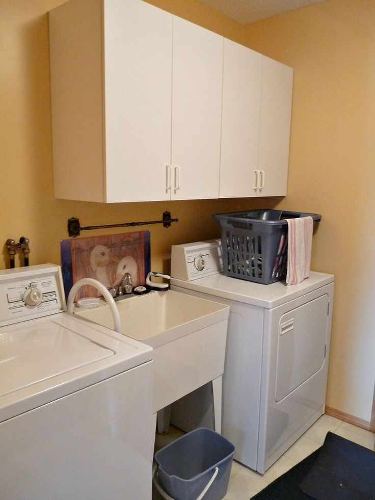 Transform your 'blah' laundry room with these 2 tricks (in just one day!)