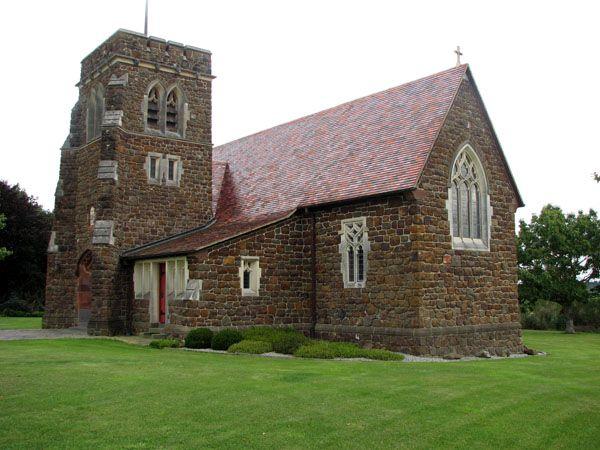 St Andrews church at Maheno, Otago, New Zealand