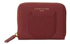 Liebeskind Berlin Connyh7 Pebbled Leather Small Zip Around Wallet.