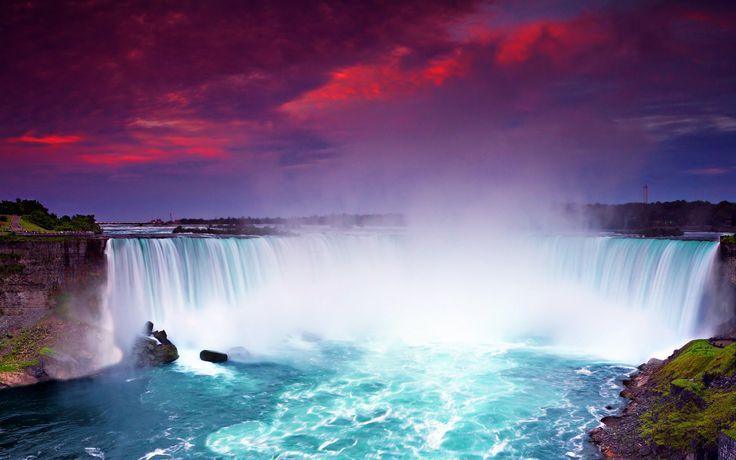 Niagara Waterfall Beautiful Wallpaper Travel #11705 Wallpaper ...