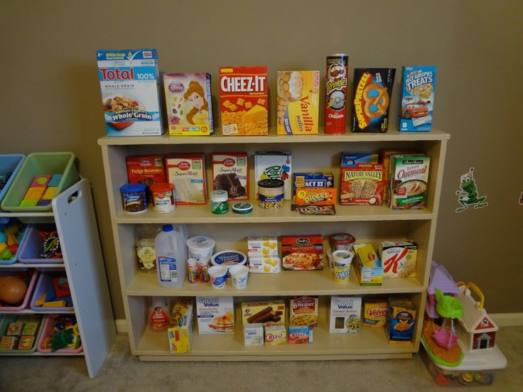 Home Daycare Setup | set up a grocery store for the girls to pretend shop!! They loved it ...