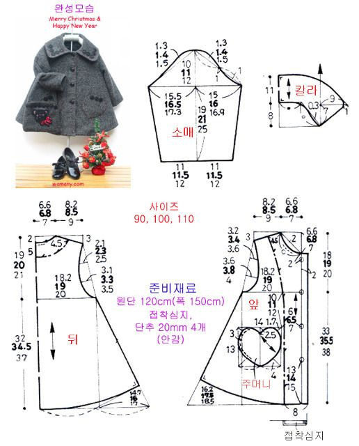Sewing pattern (for blythe dolls?)